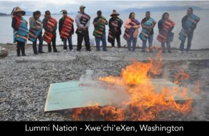 Lummi Coal Port Protest image