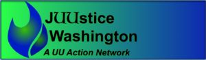 JUUstice Washington logo/banner