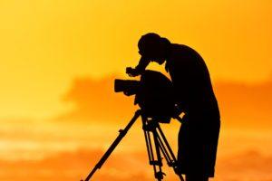 Filmaker at Sunset image