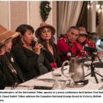 Northwest Tribal Leaders opposing Kinder Morgan