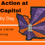 Poverty Action event graphic about the 2019 Lobby day