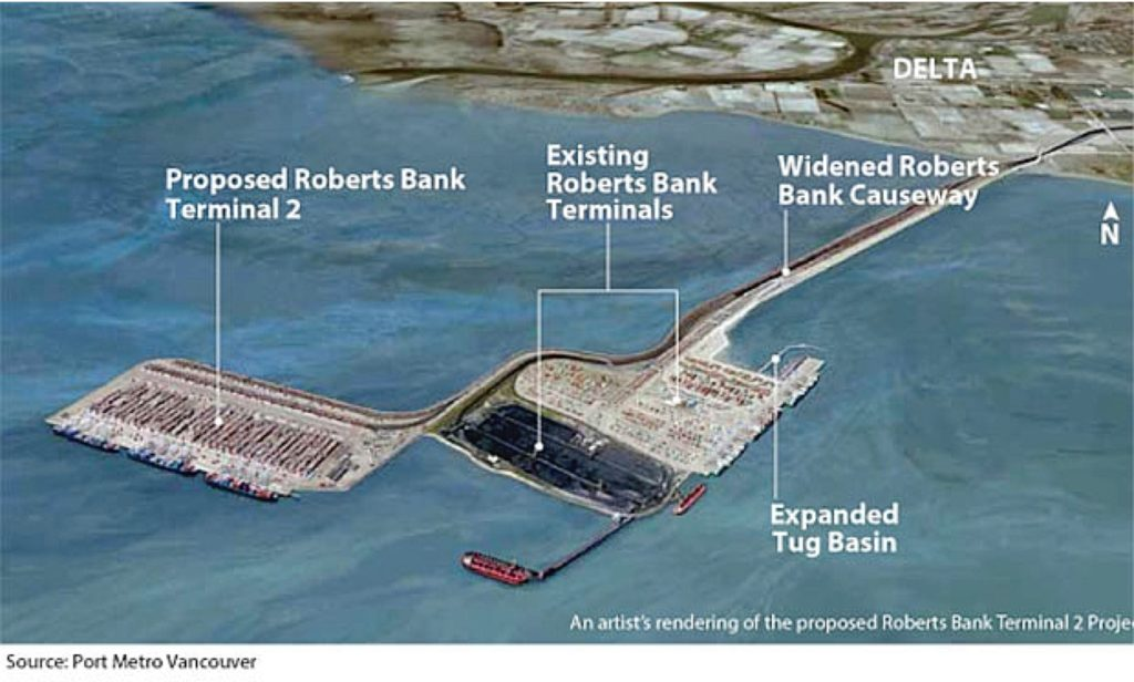 Rendering of proposed terminal
